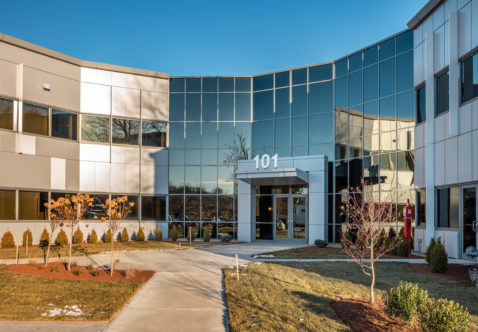 T Hobbs Brook Management Completes New Facades At Two Wakefield Mass Office  Buildings