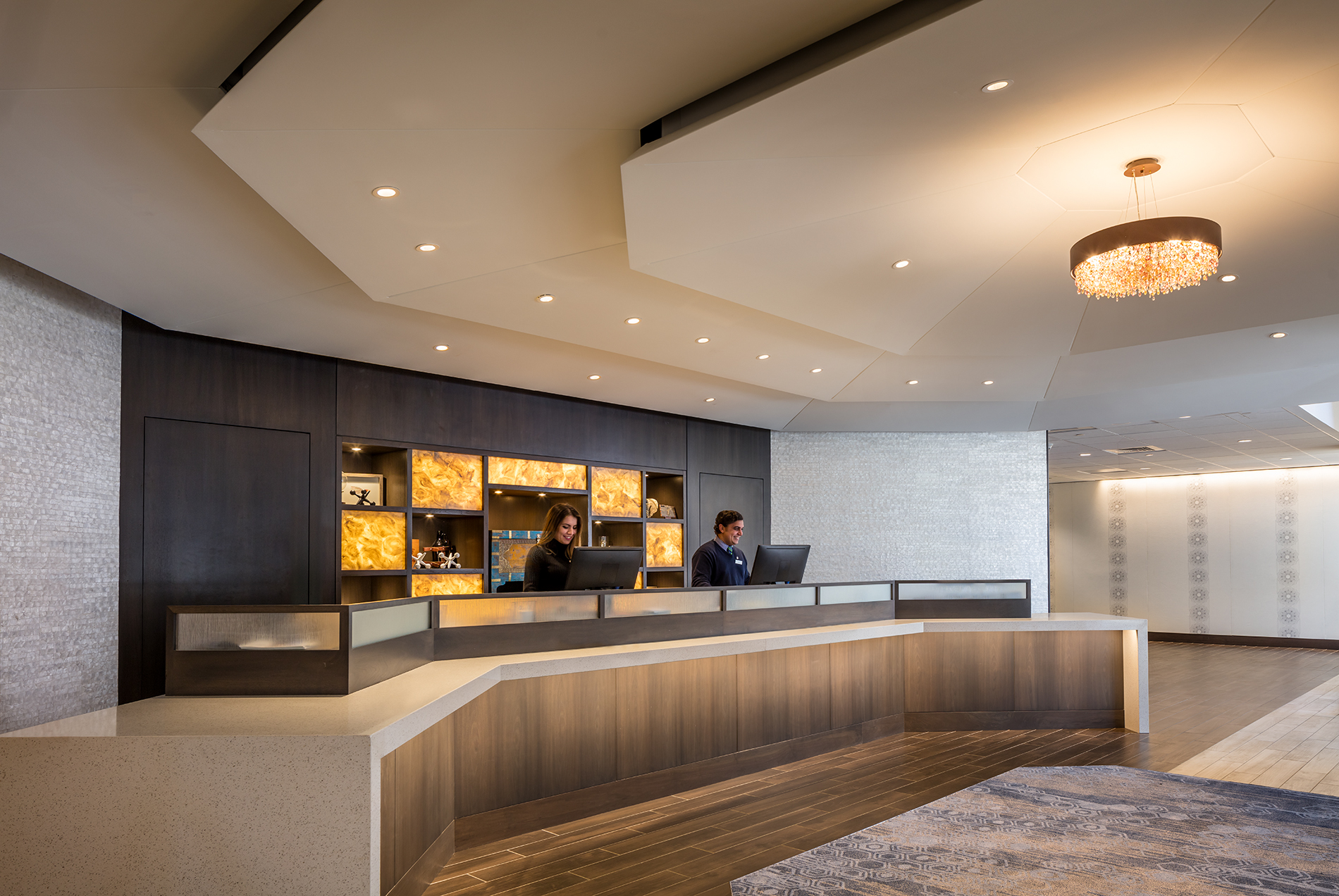 Hotel Front Desk Lobby | InterContinental Resort Isla ... |Hotel Front Office Lobby